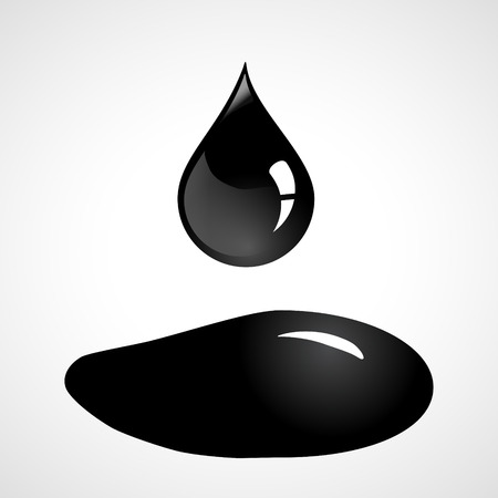 Oil drop and spill