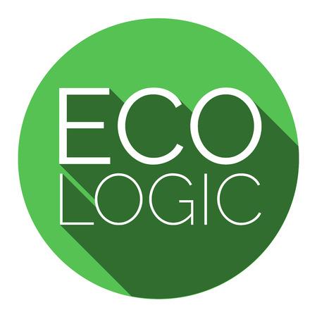 ecologic: ECOlogic green sticker.