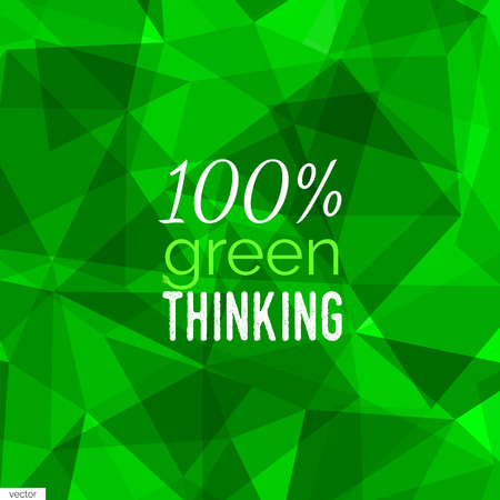 environmental policy: Green abstract background.