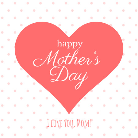 Happy Mother's Day poster.