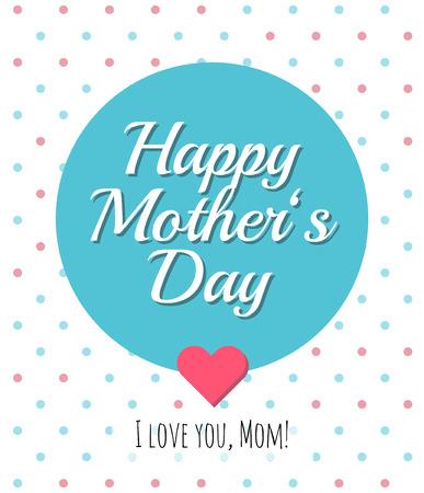 Moeders dag kaart.