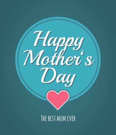 Mother's Day design. Illustration