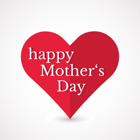 Mother�s Day heart.