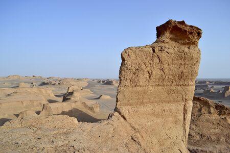 Kaluts desert in eastern Iran