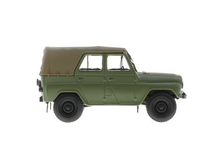 UAZ jeep Soviet production is often used in armed conflicts.