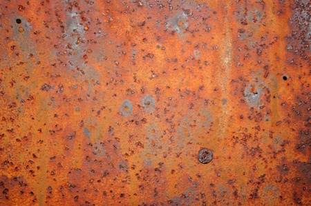 heterogeneity: Rusty metal surface