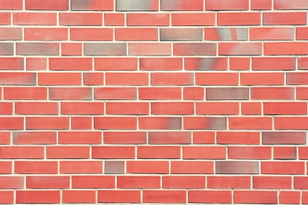 A wall of red bricks. Stock Photo - 13657302