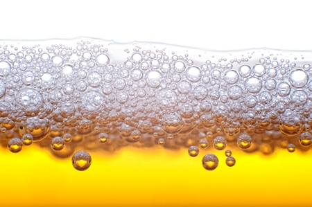 Beer bubbles in the high magnification and close-up. Stock Photo - 17352509