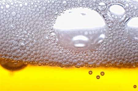 Beer bubbles in the high magnification and close-up. Stock Photo - 17352505