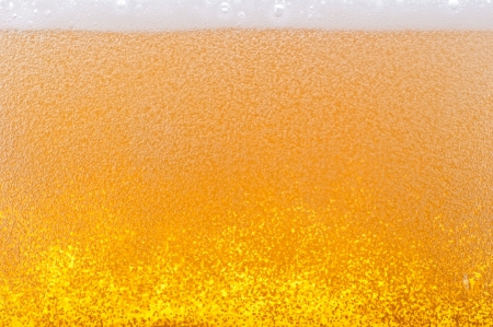 Beer bubbles in the high magnification and close-up. Stock Photo - 17352525