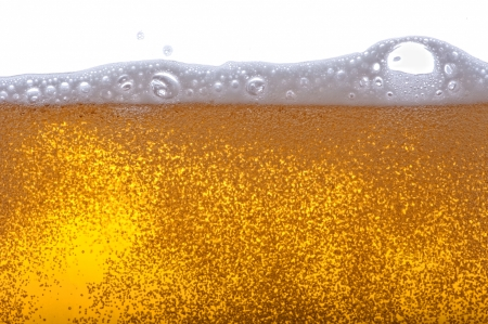 Beer bubbles in the high magnification and close-up. Stock Photo - 17352521