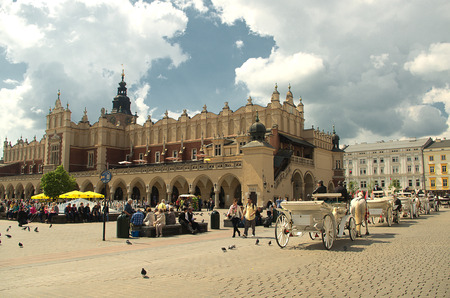 Sukiennice of Krakow and buggy rides.
