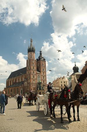 St. Marys Church in Krakow.