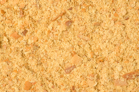 Inactive yeast flakes as a background. Imagens
