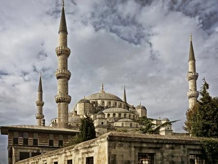 Blaue Moschee Istanbul photo