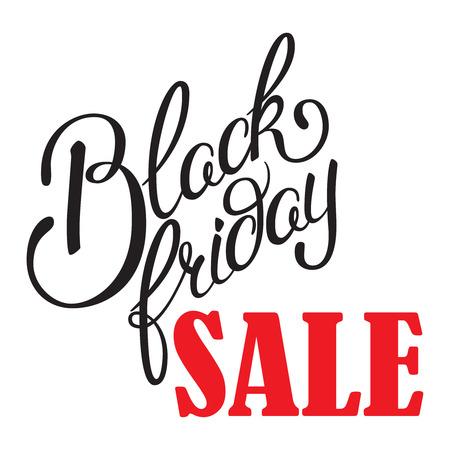 calligraphic design: Hand drawn Black Friday Sale Calligraphic Design.