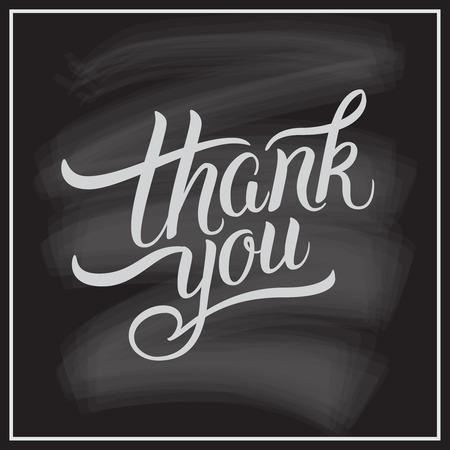 ありがとうございます手レタリングします。グリーティング カード、版画、ポスター、書道デザイン。 写真素材 - 48557097
