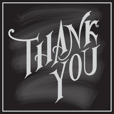 ありがとうございます手レタリングします。グリーティング カード、版画、ポスター、書道デザイン。 写真素材 - 48557095