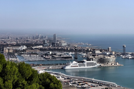 port of barcelona Reklamní fotografie