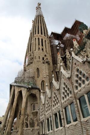 sagrada familia in barcelona Redakční