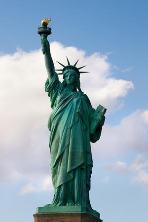liberty island: Statua della Libert� su Liberty Island a New York City Archivio Fotografico