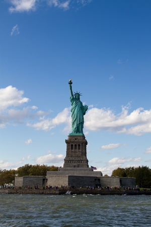 Statue of Liberty on Liberty Island in New York City Reklamní fotografie