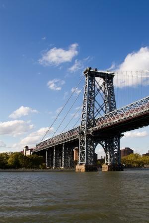 Manhattan Bridge, New York, USA Reklamní fotografie