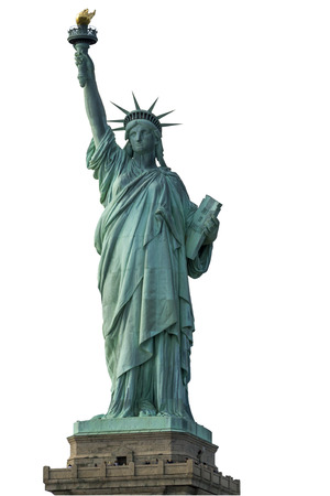 statue of liberty: Statue of Liberty Stock Photo