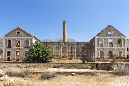 The ruins of an abandoned factory in Spain. Reklamní fotografie