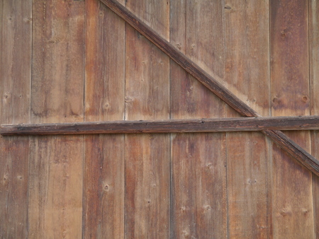 wooden wall from a barn photo