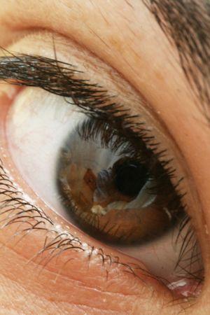 Macro shot of a beautiful woman's eye. Stock Photo - 5840422