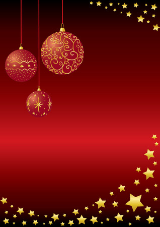 christmas background.Easy to edit layers.