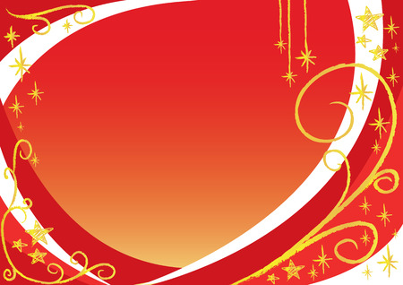christmas background.Easy to edit layers. Vector