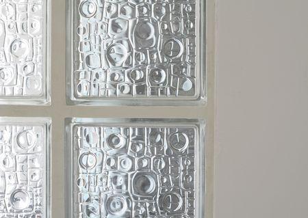 Glass bricks photo