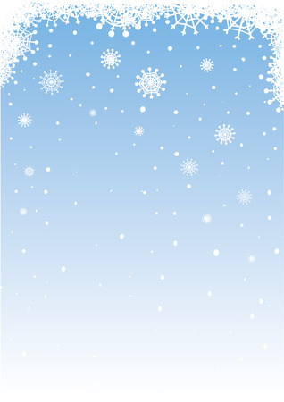 Vector snowy background for your holiday's design.