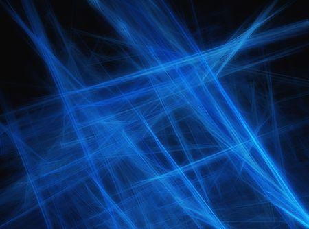 Digital illustration of a blue futuristic abstract background. Reklamní fotografie