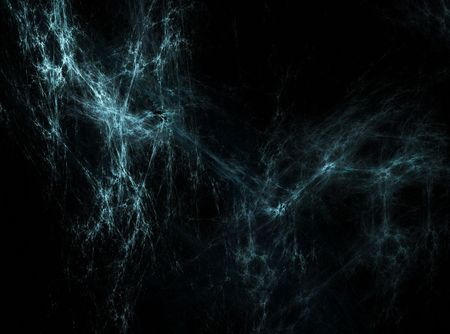 Abstract cyan spider web like background