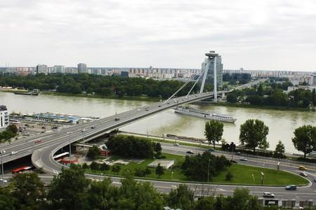 Bratislava View Reklamní fotografie