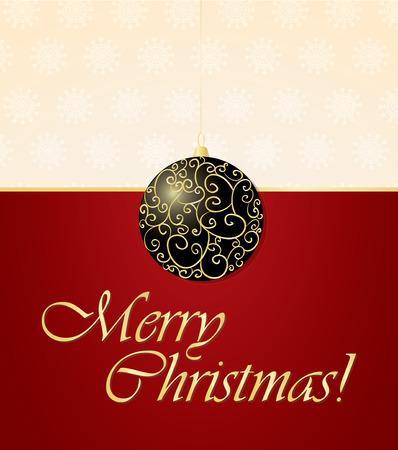 elegant christmas background Ilustrace