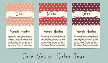 Cute retro style vector sale options