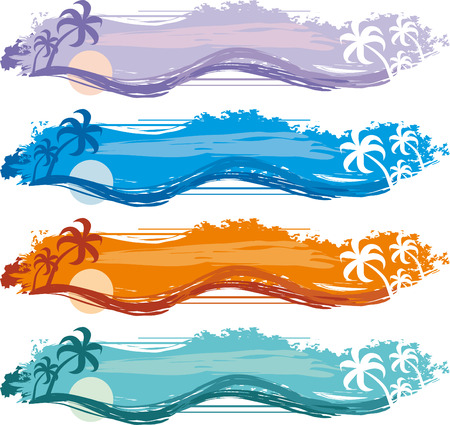 Tropical Banner Stock Vector - 6459179
