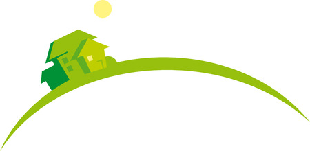 Houses (image symbolizes growing real estate market) Vector