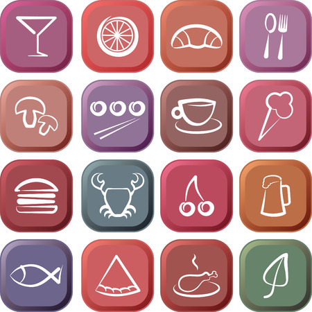 Food & Restaurant icons Vector