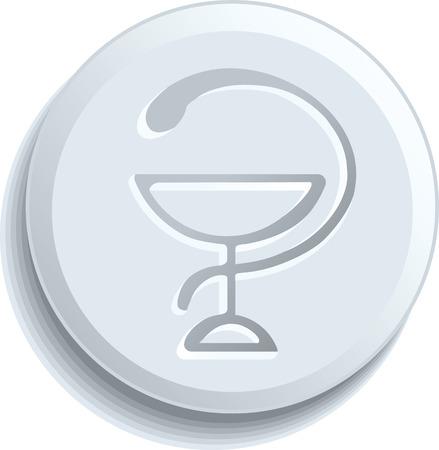 Healthcare & Pharma symbol Stock Vector - 6459419