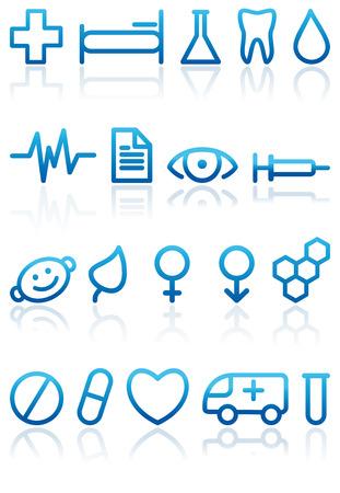 Medical symbols Stock Vector - 6532196
