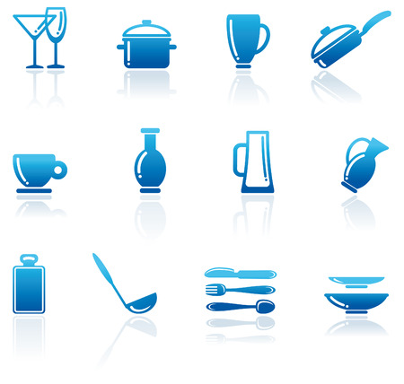 ware: Shining icons of kitchen ware