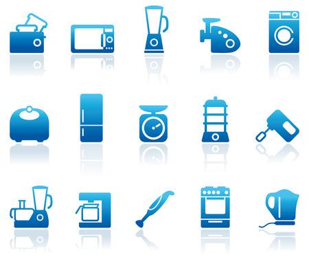 Kitchen home appliances Stock Vector - 6636139