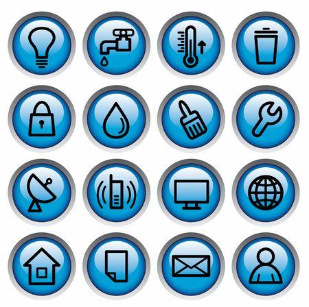 utilities: Utilidades y el servicio de ingenier�a de botones de edificios