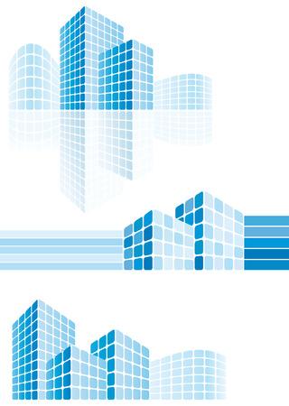 edificios: Edificios de la ciudad moderna