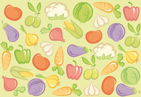 Sfondo vegetale senza saldatura